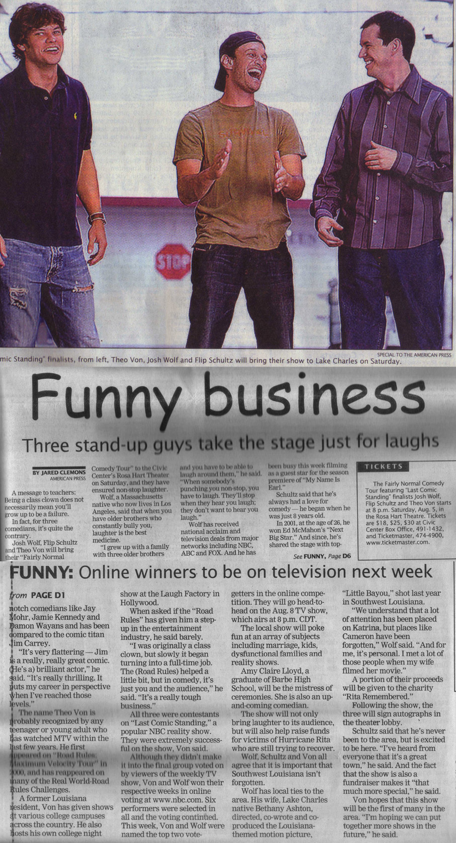 Funny Business-2006 (from 'The Fairly Normal Comedy Tour')